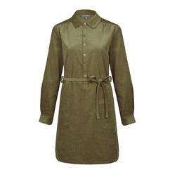 Платье-туника из вельвета горчичного цвета MD 492 Butternut