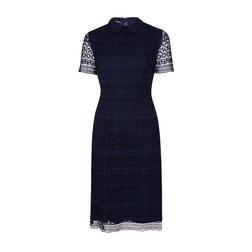 Кружевное нарядное платье синего цвета MD 955 Navy