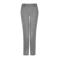 Укороченные брюки светло-серого цвета TR 276
