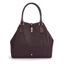 Удобная сумка темно-фиолетового цвета BG 304