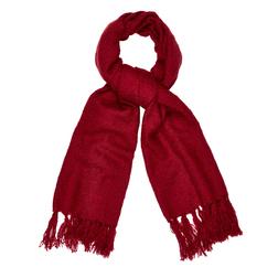 Яркий шарф красного цвета SH 297