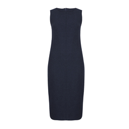 Изысканное платье-сарафан цвета индиго MD 995