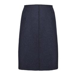 Оригинальная юбка темно-синего цвета MS 783