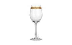 Бокал для вина с золотистой полоской GLITTER WINE GLASS 22,6*8 (Gold)