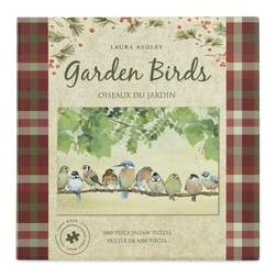 Пазл с изображением птичек сидящих на веточке GARDEN BIRDS JIGSAW (1000 PCS) 6*20,5 (Multi)