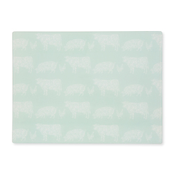 Разделочная доска с рисунком деревенских животных ANIMALS WORK TOP SAVER 40*30 (Multi)