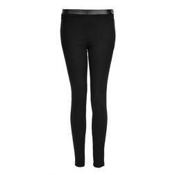 Черные зауженные брюки TR 078