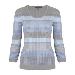 Пуловер в полоску  JP 742