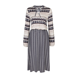 Платье с комбинированым принтом MD 880