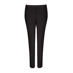Зауженные брюки со стрелками черного цвета TR 500