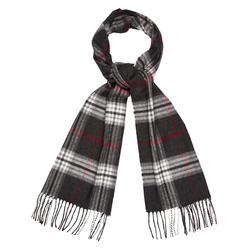 Мужской шарф в традиционную английскую клетку ME 090 Grey