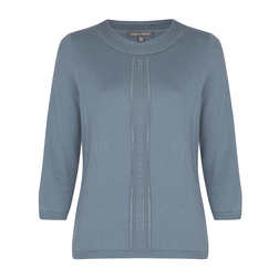 Модная блуза голубого цвета JP 735 Bluestone