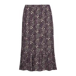 Романтичная юбка с оборками 740 Stonewash multi