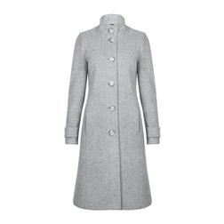 Изысканное пальто нежно -серого цвета CT 285