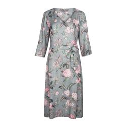 Элегантное платье с цветочным принтом MD 949