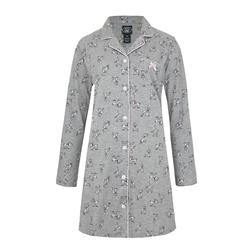 Пижамная рубашка с принтом милых собачек NW 220