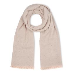 Нежный шарф пудрового цвета SH 424