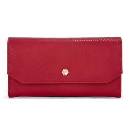 Стильный кошелек красного цвета SL 267