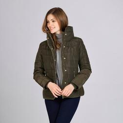 Cтильная курточка оливкового цвета CT 138