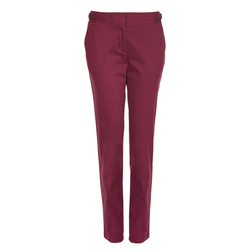 Элегантные брюки винного цвета TR 066