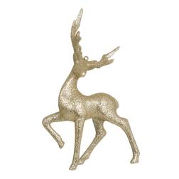 Игрушка для новогодней елки в форме оленя STAG DECORATION 16*9*5 (Gold)