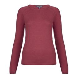 Элегантный пуловер винного цвета JP 791