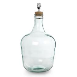 Стильная база для лампы в форме стеклянной бутылки CHIDDINGFOLD 43*28*28 (Clear)