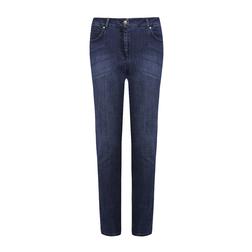 Синие джинсы зауженные к низу TR 474