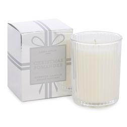 Ароматическая свеча с приятным запахом апельсина, гвоздики и корицы CHRISTMAS POMANDER BOXED 180g (S