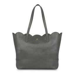 Стильная сумка серого цвета BG 238