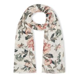 Элегантный шарф с цветочным принтом SH 428
