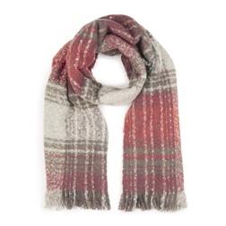 Стильный шарф с клетчастым рисунком SH 446