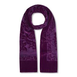 Изысканный шарф глубокого фиолетвого цвета SH 607