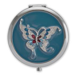 Стильное зеркальце с рисунком бабочки SL 539