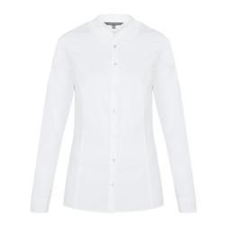 Классическая белая блуза BL 357