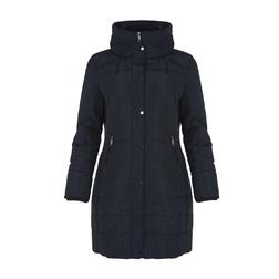Стильная и теплая  куртка синего цвета CT 276