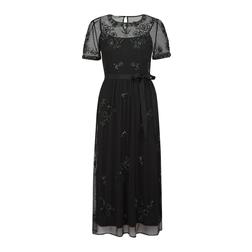 Шикарное вечернее платье черного цвета MD 008