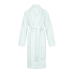 Мягкий халат нежно-голубого цвета NW 227