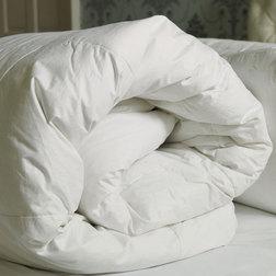 Толстое одеяло из из 2-х половинок наполнение микроволокно DUVET 13.5 TOG DB 200*200 MICROFIBRE (Whi