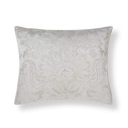 Красивая декоративная подушка серебристого цвета MADDOX 40*50 (Silver)