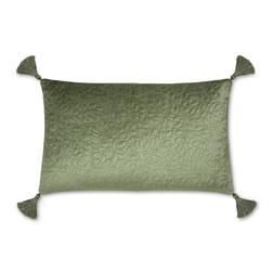 Прямоугольная подушка зеленого цвета VINES LITTLE EMB 30*50 (Hedgerow)