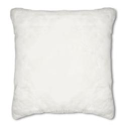 Роскошная большая подушка белого цвета DARTMOOR FUR 58*58 (White)