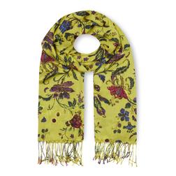 Яркий шарф с цветочным принтом SH 649