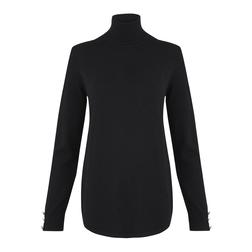 Элегантный джемпер черного цвета JP 821