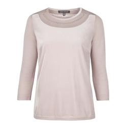 Модный пуловер пудрового цвета JP 852