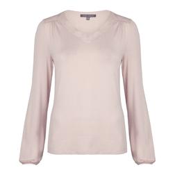 Женственная футболка розового цвета TS 143