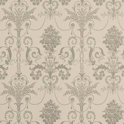 Бумажные обои с роскошным рисунком бежево-коричневого цвета JOSETTE (Truffle)