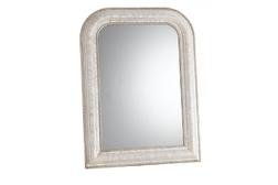 Небольшое прямоугольное зеркало с закругленными верхними краями OLIVIA SMALL (Ivory)