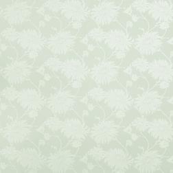 Бумажные обои светло-зеленого цвета с рисунком цветов хризантемы KIMONO (Eau De Nil)