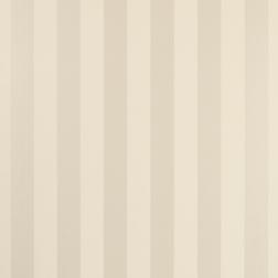Бумажные обои в широкую полоску светло-бежевого цвета LILLE (Linen)